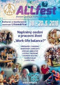Allfest leták 2018