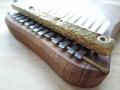 Kalimba z jilmu, diatonika G-dur, 13 tónů