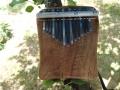 Kalimba z ořešáku, ladění f-moll, 15 tónů
