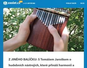 Jak vypadá náš rozhovor na zaslat.cz