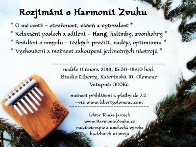 Pozvánka na Harmonii v Olomouci