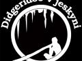 Logo didgeridoo v jeskyni